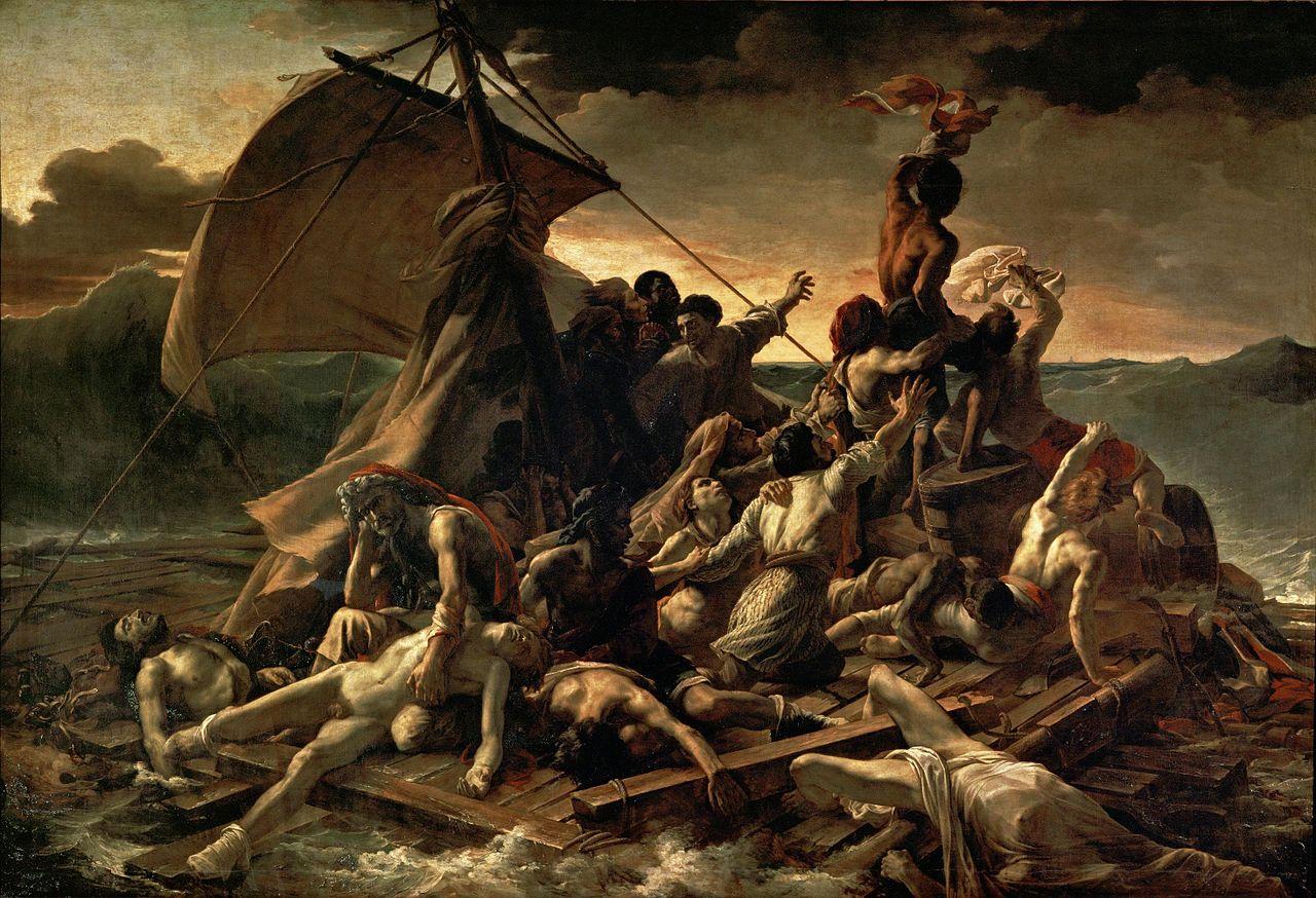 جيريكو (La Balsa de la Medusa) - متحف اللوفر باريس 1818-1819