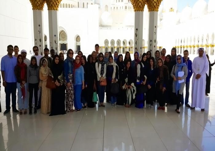 زيارة ميدانيّة إلى الإمارات العربيّة المتّحدة في موضوع حوار الأديان